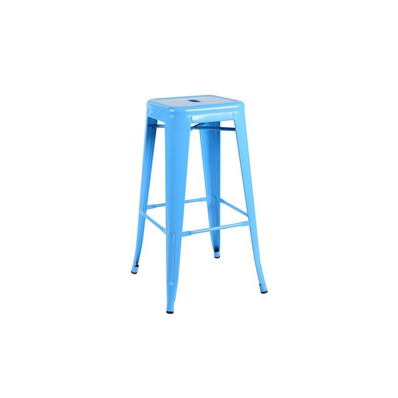 tabouret de bar haut bleu ciel location de meubles paris. Black Bedroom Furniture Sets. Home Design Ideas