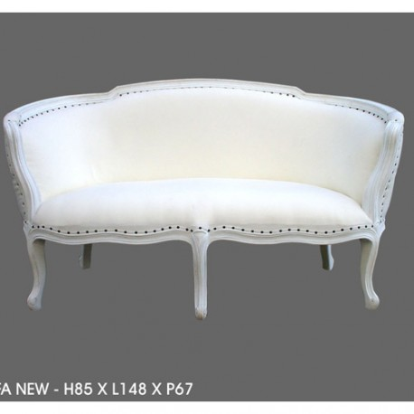 location banquette mariage tissu blanc d co priv. Black Bedroom Furniture Sets. Home Design Ideas