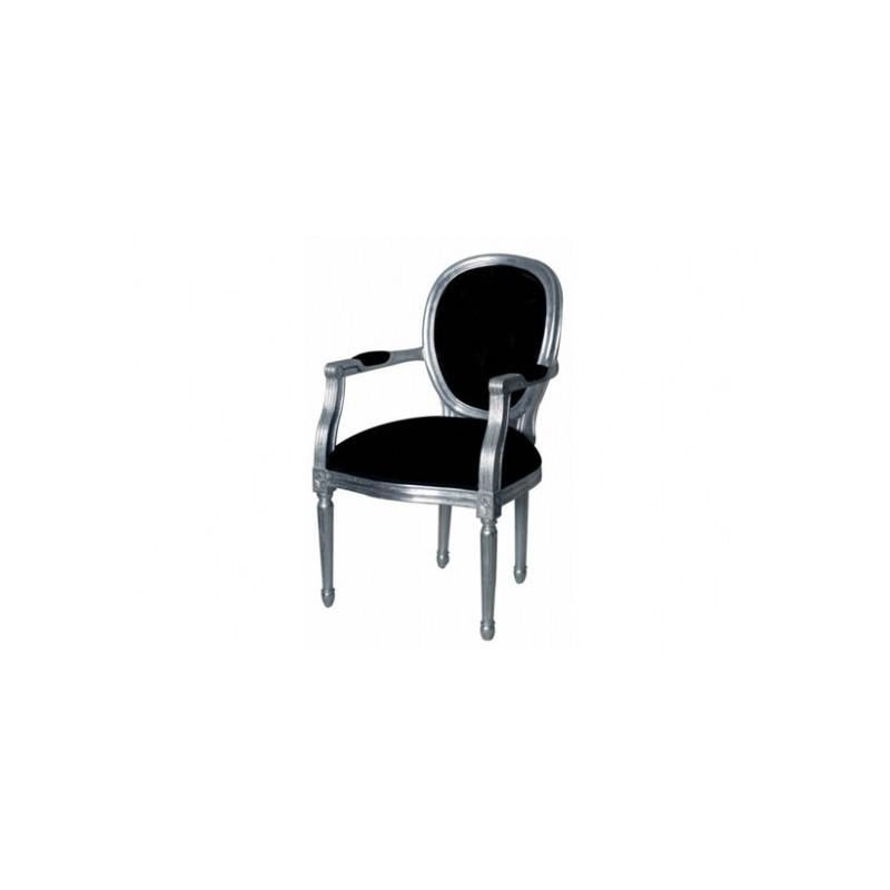 Location fauteuil cabriolet xvi louer en velours nois et bois argent loc - Fauteuil cabriolet rotin ...