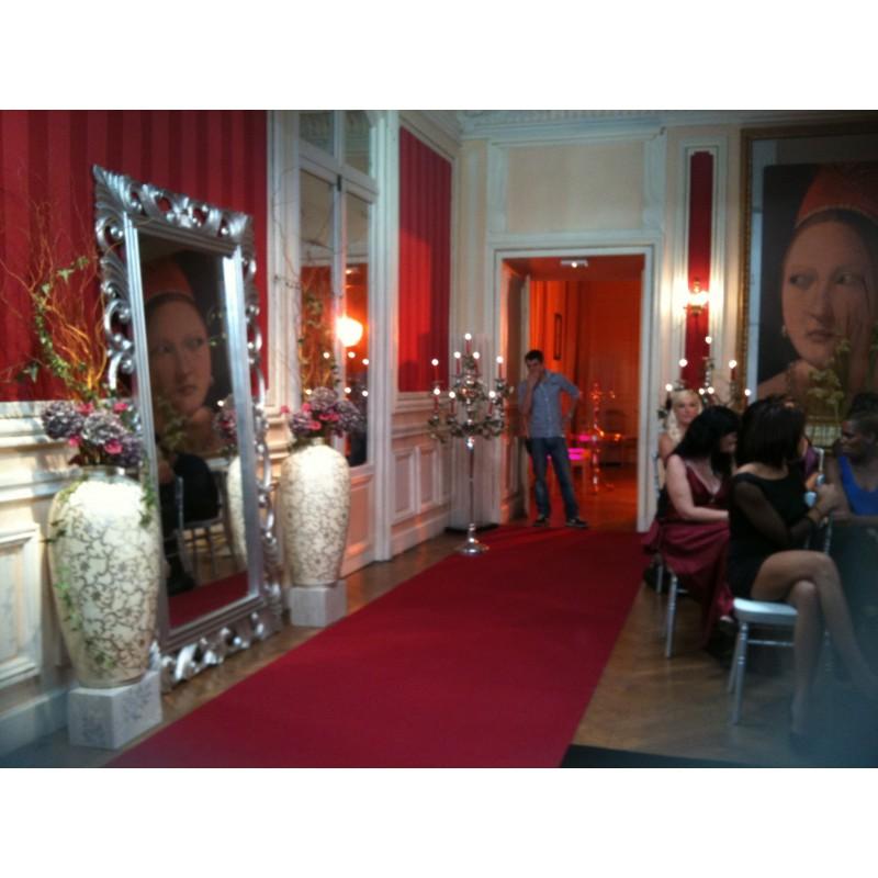miroir baroque argent louer mod le eclipse location de meubles paris et r gion parisienne. Black Bedroom Furniture Sets. Home Design Ideas