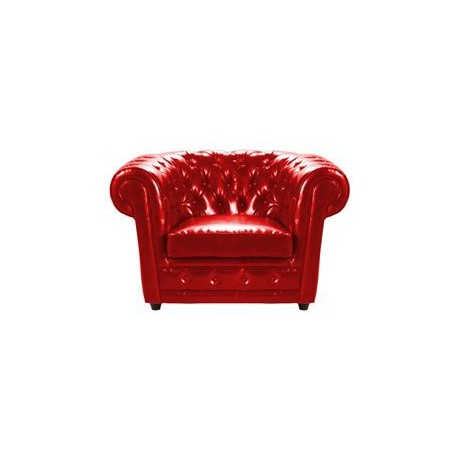 Location fauteuil chesterfield cuir rouge location de meubles paris et r gi - Fauteuil chesterfield rouge ...