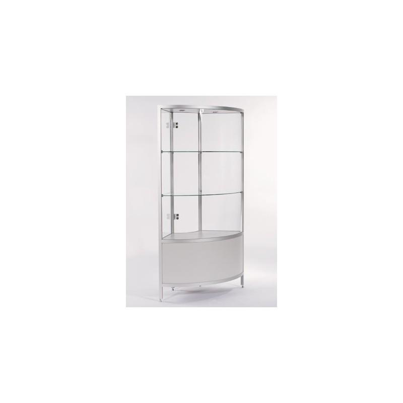 location vitrine d 39 angle h 190 cm location de meubles paris et r gion parisienne. Black Bedroom Furniture Sets. Home Design Ideas