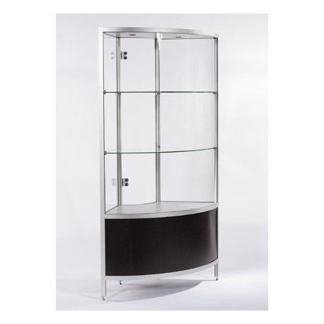 location vitrine d 39 angle weng et vitrine h 190 cm. Black Bedroom Furniture Sets. Home Design Ideas