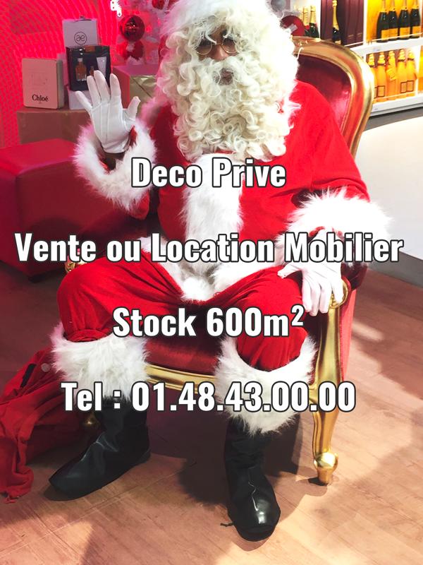 location trône père Noël