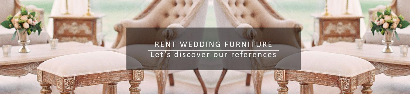 Location mobilier pour mariages et fêtes