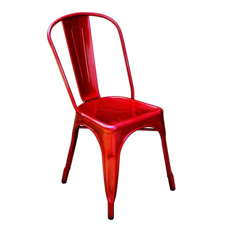 Location chaise Tolix rouge