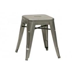 Tabouret de bar en metal gris à louer