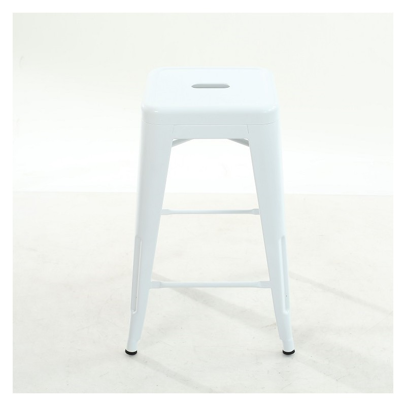 location tabouret blanc sur site d co priv. Black Bedroom Furniture Sets. Home Design Ideas