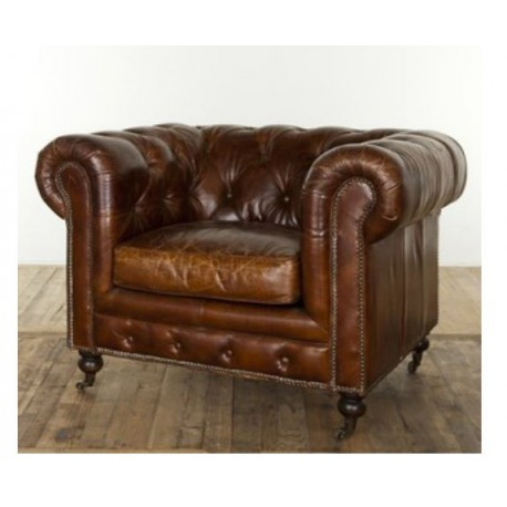 Location fauteuil chesterfield 1 place vintage