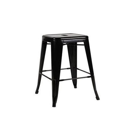 126 events location tabouret metal noir sur d co priv. Black Bedroom Furniture Sets. Home Design Ideas