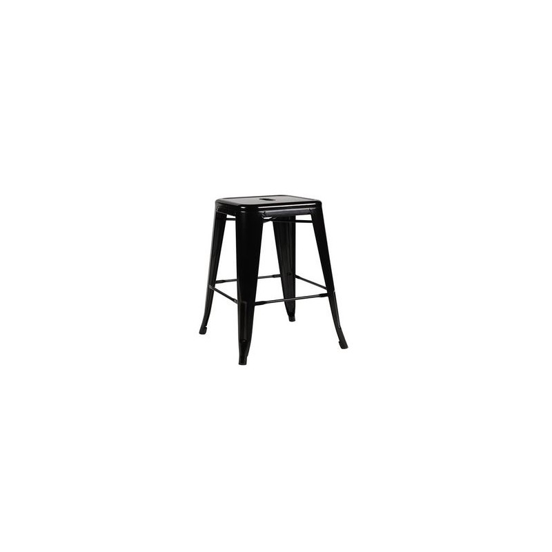 location tabouret metal noir sur d co priv. Black Bedroom Furniture Sets. Home Design Ideas