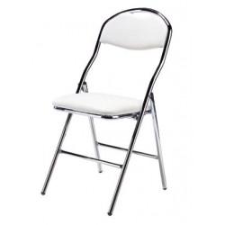 Location chaise pliante blanche Auteuil