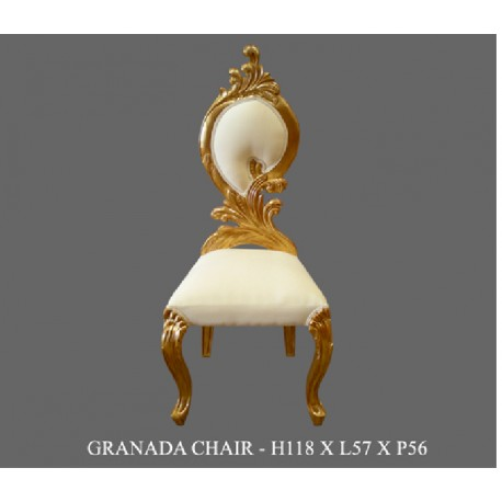 Location chaise baroque