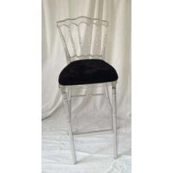Chaise de bar cristal à louer
