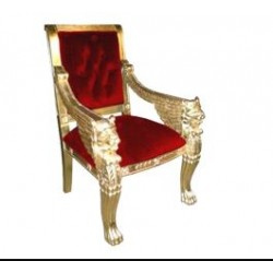 Location fauteuil trone style Egyptien