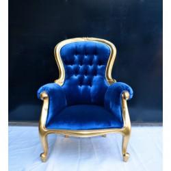 Location fauteuil bleu