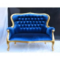 Louer banquette bleue