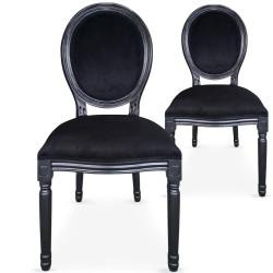 Location chaise médaillon