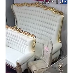 Location Fauteuil Trone 2 places