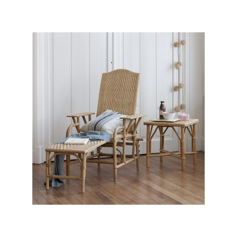 Location de chaise longue en rotin naturel 126 events - Chaise longue en rotin ...
