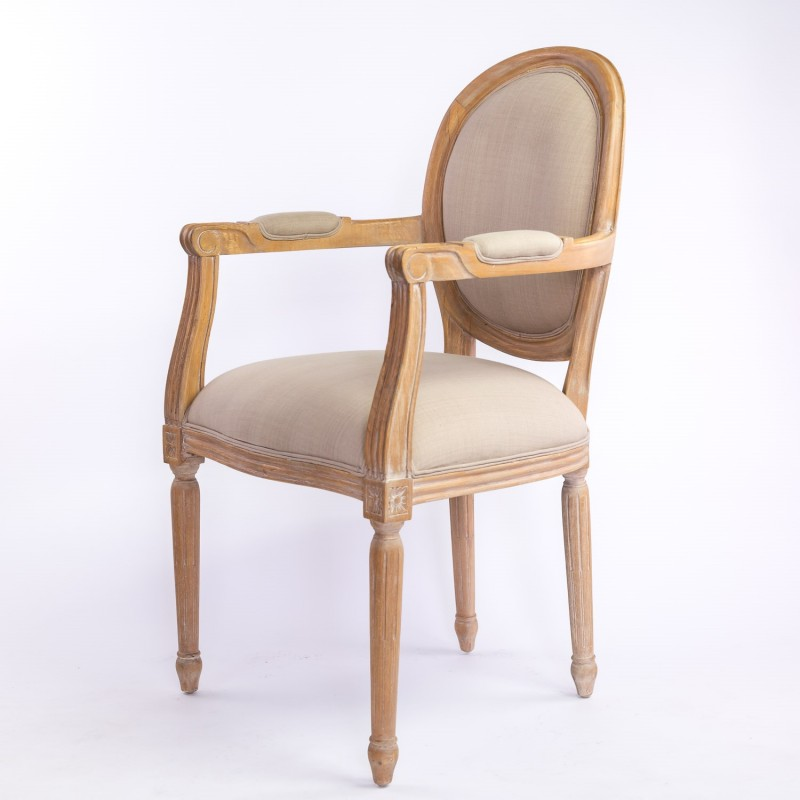 Location fauteuil mariage traditionnel ceruse - Location de meubles