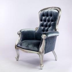 Location fauteuil gris