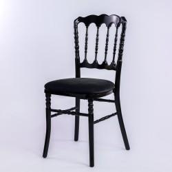 Location chaise napoléon noire