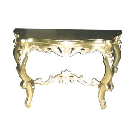 Location console baroque dorée