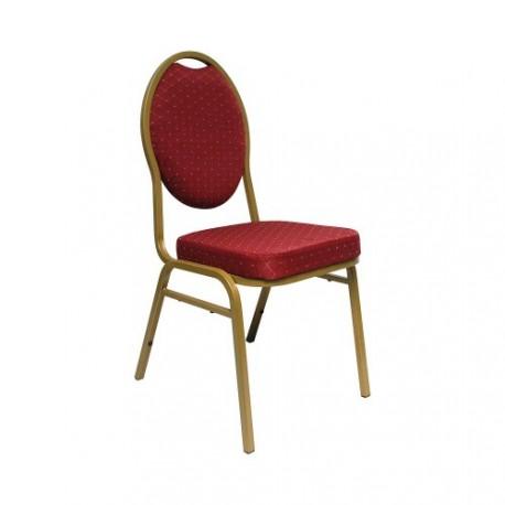 Chaise de banquet rouge à louer