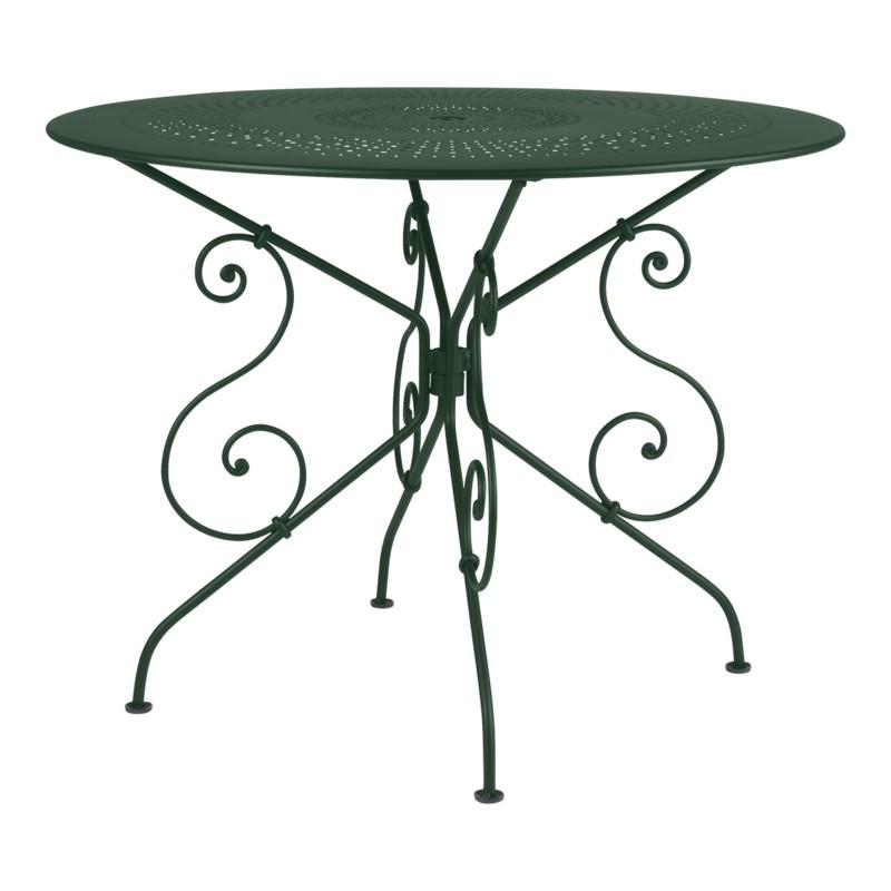location table de jardin en m tal 126 events. Black Bedroom Furniture Sets. Home Design Ideas