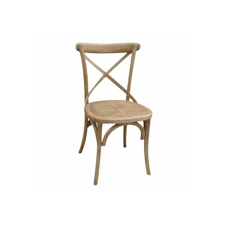 chaise de bistrot en bois location de meubles. Black Bedroom Furniture Sets. Home Design Ideas