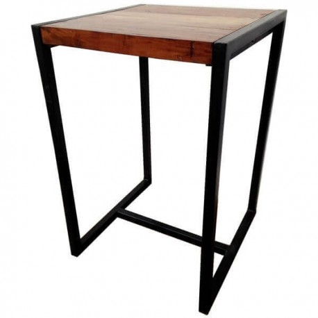 Location table metal et bois
