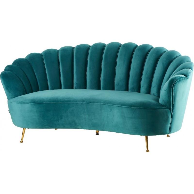 canap en velours vert location de meubles. Black Bedroom Furniture Sets. Home Design Ideas