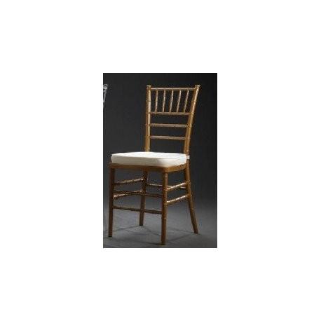 Location chaise de réception Chiavari dorée