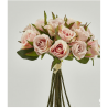 Location bouquet de roses artificielles