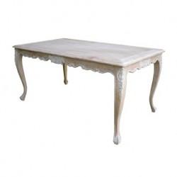 Table cérusée à louer