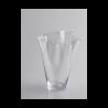Vase en verre transparent à louer