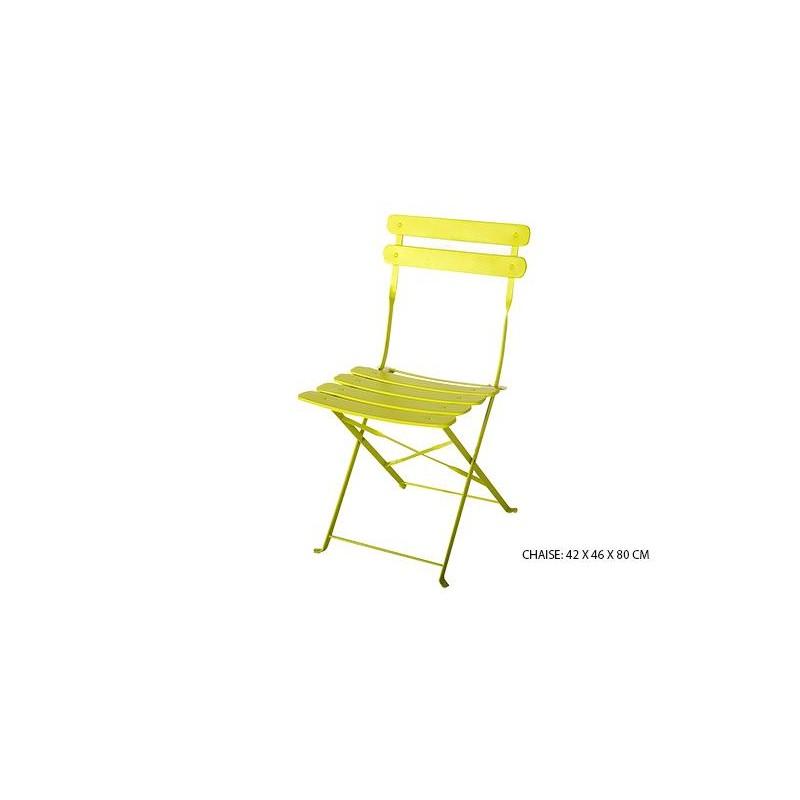 table chaise de jardin en m tal location de meubles. Black Bedroom Furniture Sets. Home Design Ideas