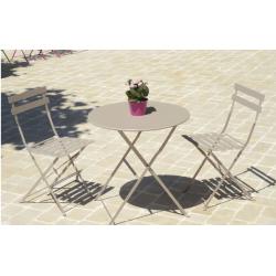 Location table de jardin pliante