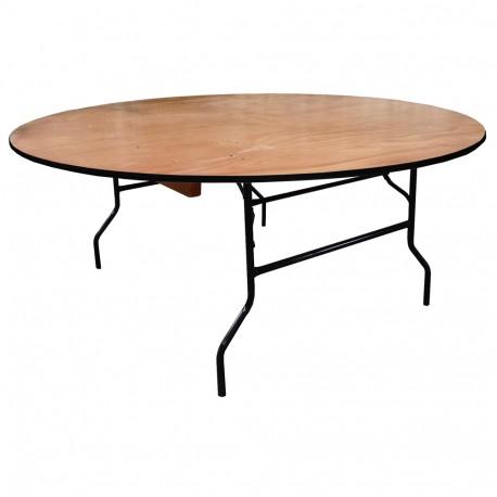 126 events location de table ronde en bois 126 events. Black Bedroom Furniture Sets. Home Design Ideas