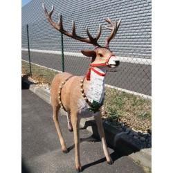 Location rennes pour traîneau de Père Noël