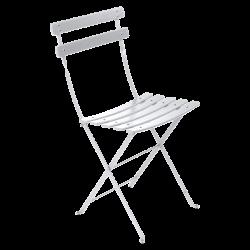 Table chaise de jardin en métal