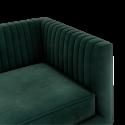 Location fauteuil en velours