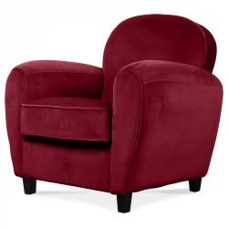 Louer fauteuil club marron