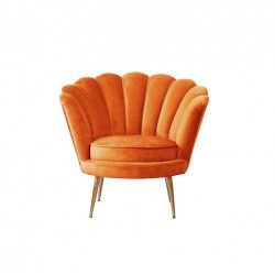 Location fauteuil orange
