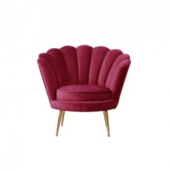 Location fauteuil corolle rouge