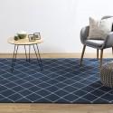 Location tapis style scandinave bleu