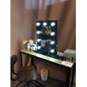 Location miroir à maquillage lumineux