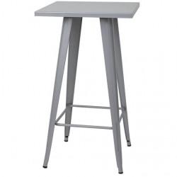 Table haute de style industriel