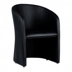 Location fauteuil cabriolet cuir choco